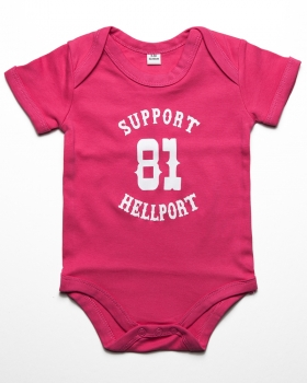 Baby Bodysuit : SUPPORT 81 - Pink