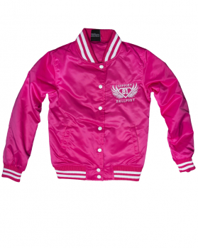 College Jacke: SUPPORT 81 HELLPORT - Pink